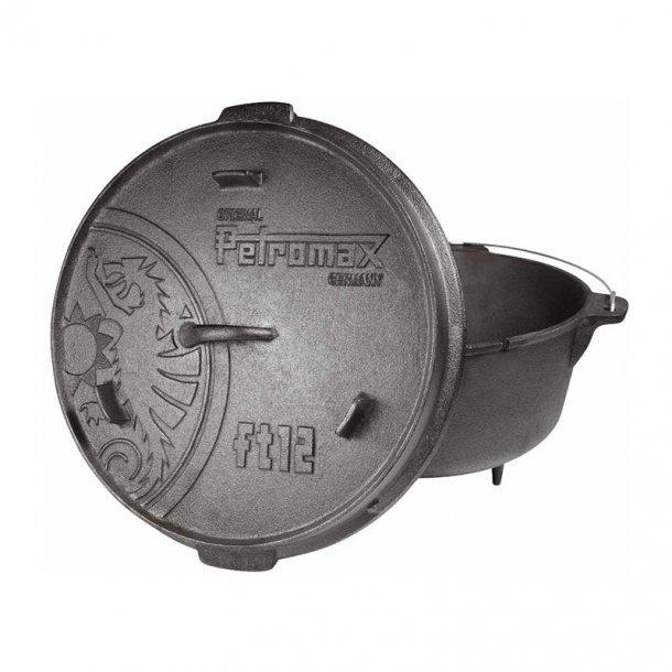 Petromax - Dutch Oven ft12 Støbejernsgryde (11,5L)