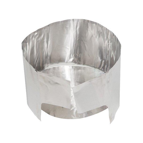 MSR - Solid Varmereflektor m. Vindskærm