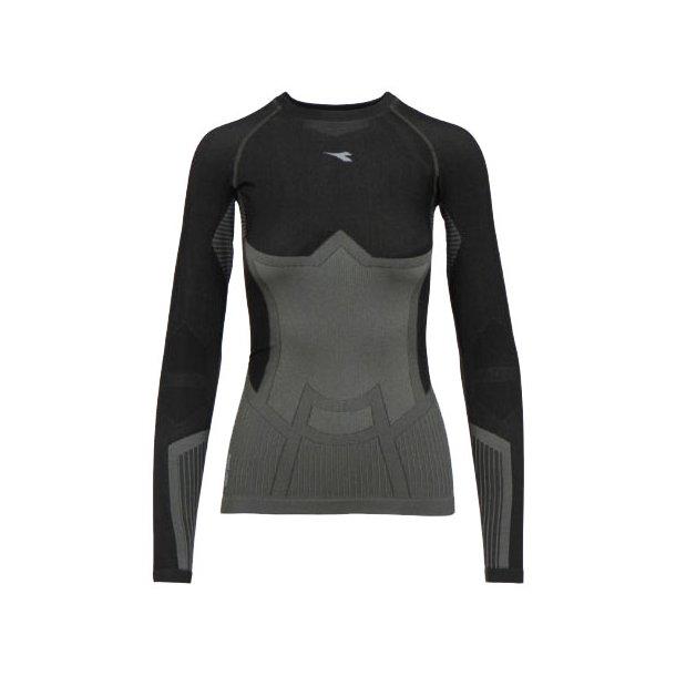 Diadora - Langærmet Træningstrøje - Woman