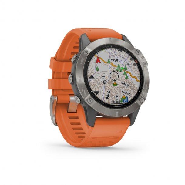 Garmin - Fenix 6 Sapphire Multisports GPS Ur
