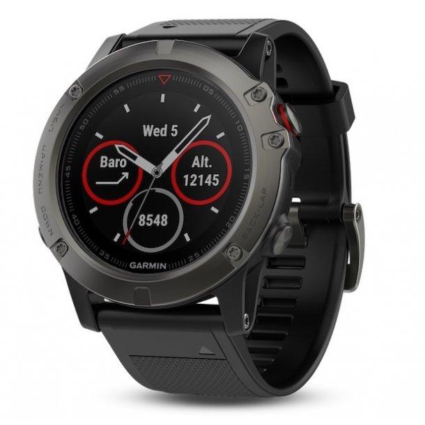 Garmin - Fenix 5X Sapphire Multisports GPS Ur