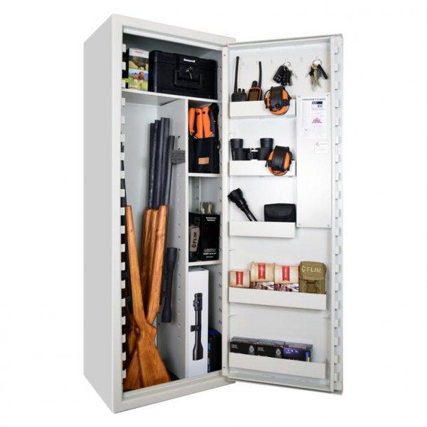 Scandinavian Safe - SP88 Våbenskab (9 våben)