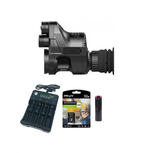 Pard - NV007A Natkikkert inkl. SD-kort, Oplader og 2 Batterier