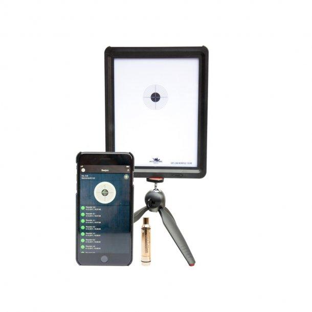 Accurize - Startpakke (9 mm.) med 2 Skiver, Tripod og Laserpatron