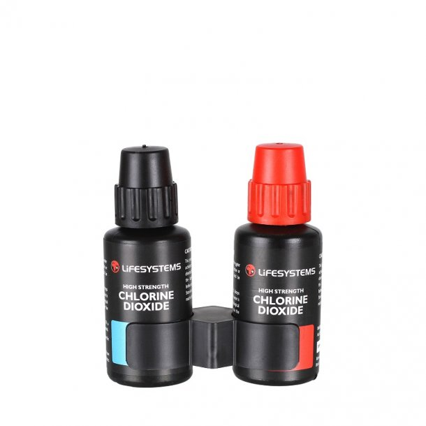 Lifesystems - Klorindioxid vandrensningsdråber (2-pak)