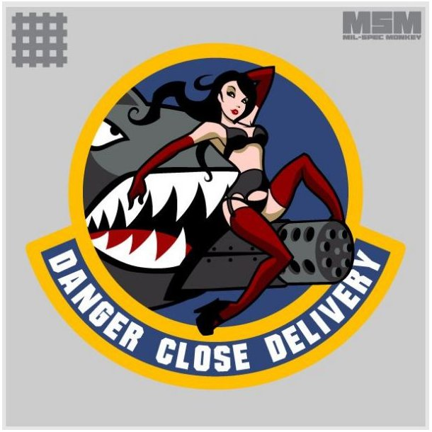 Mil-Spec Monkey - Danger Close Patch