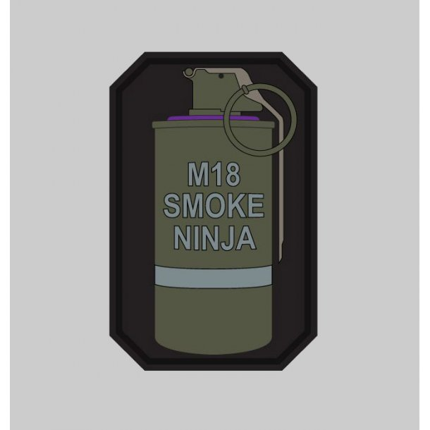 Mil-Spec Monkey - M18 Smoke Ninja patch