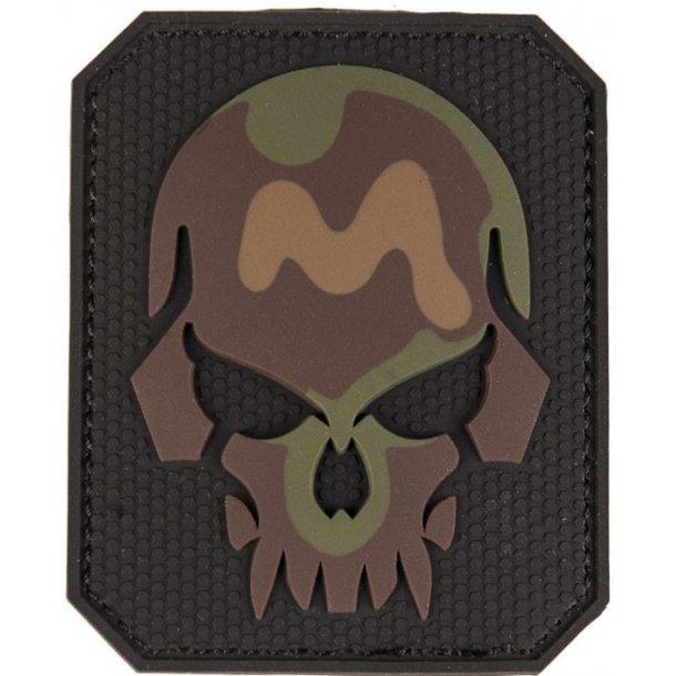 Mil-Tec - 3D Skull PVC Patch (8x6,5 cm)