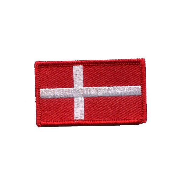 Tac-case - Dannebrogsflag (Velcro)