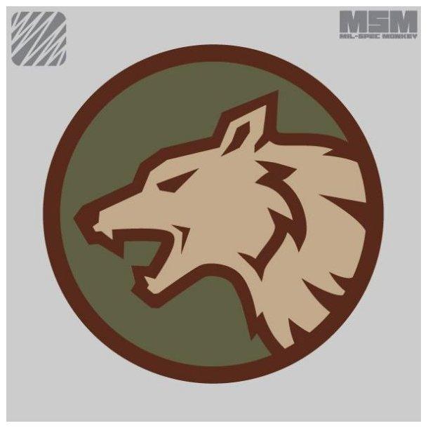 Mil-Spec Monkey - Wolf Head Patch