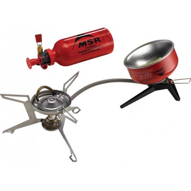 MSR - WhisperLite Universal Multi-fuel og Gasbrænder